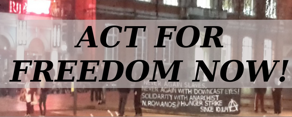 Act for freedom now!
